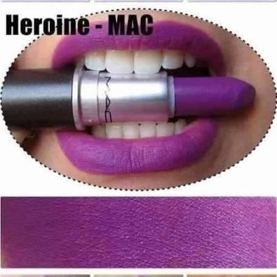 batom heroine mac