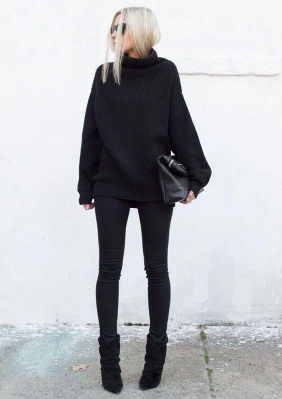 look total black 4